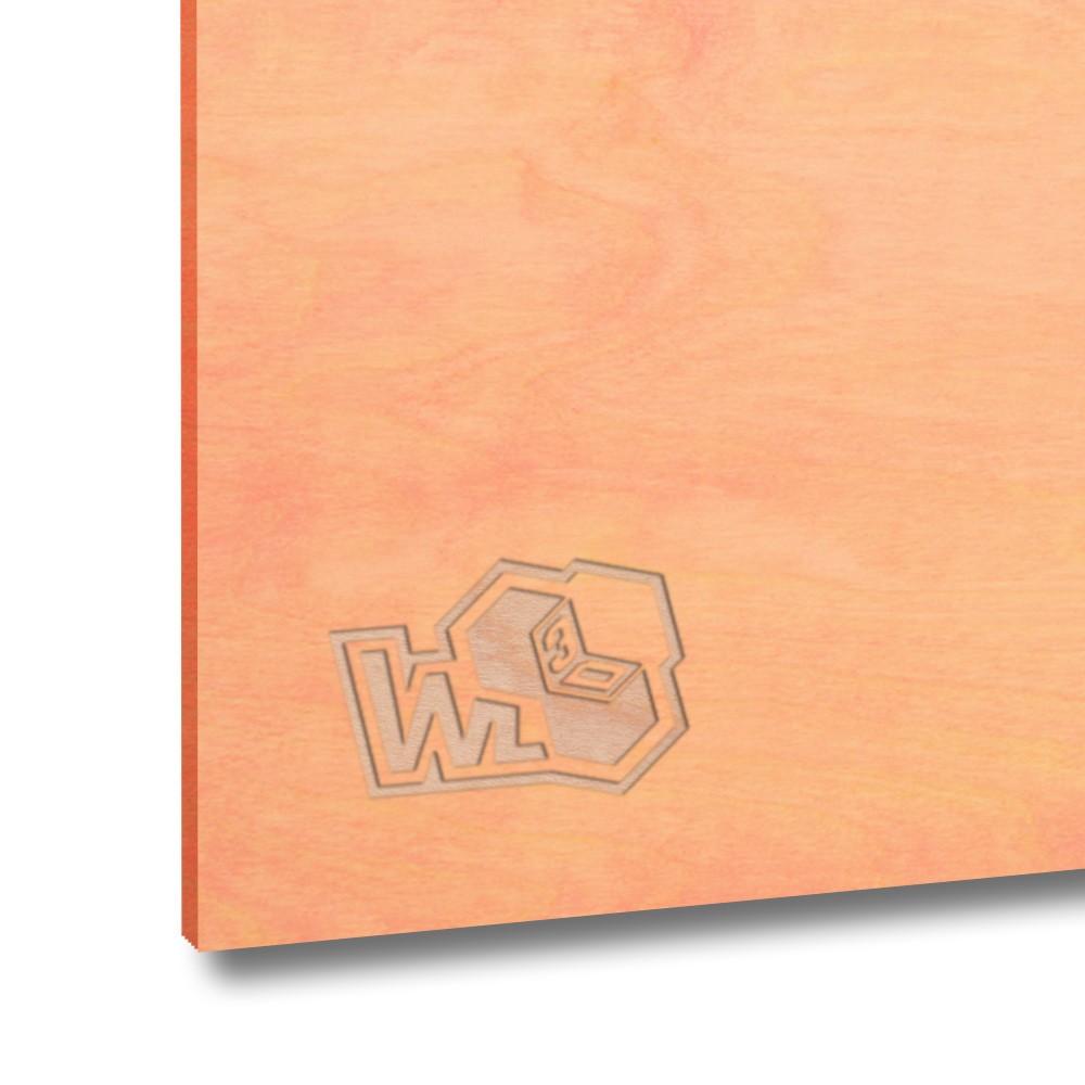 Legno di betulla multistrato rosa