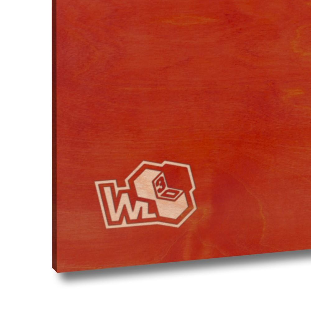 Legno di betulla multistrato rosso