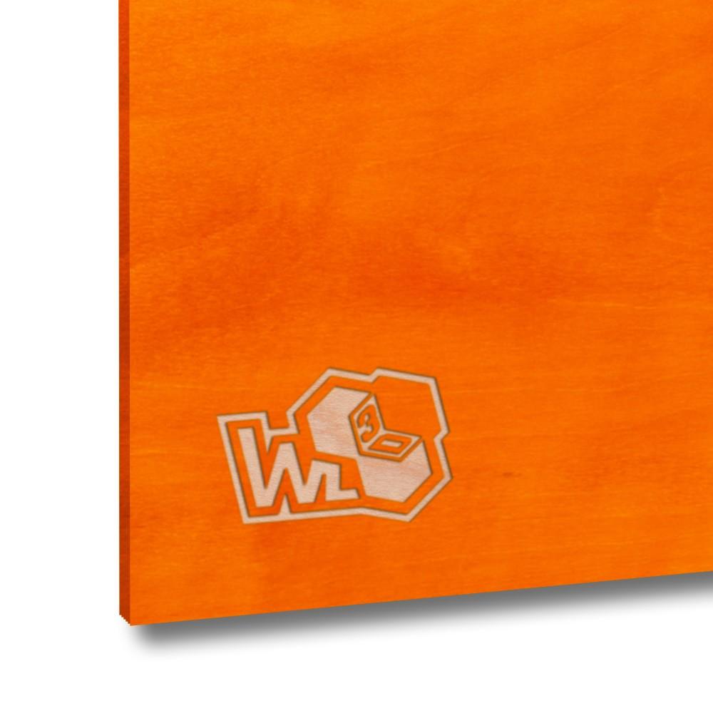 Legno di betulla multistrato arancione