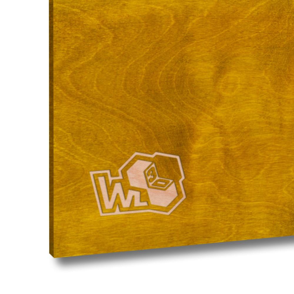 Legno di betulla multistrato dorato