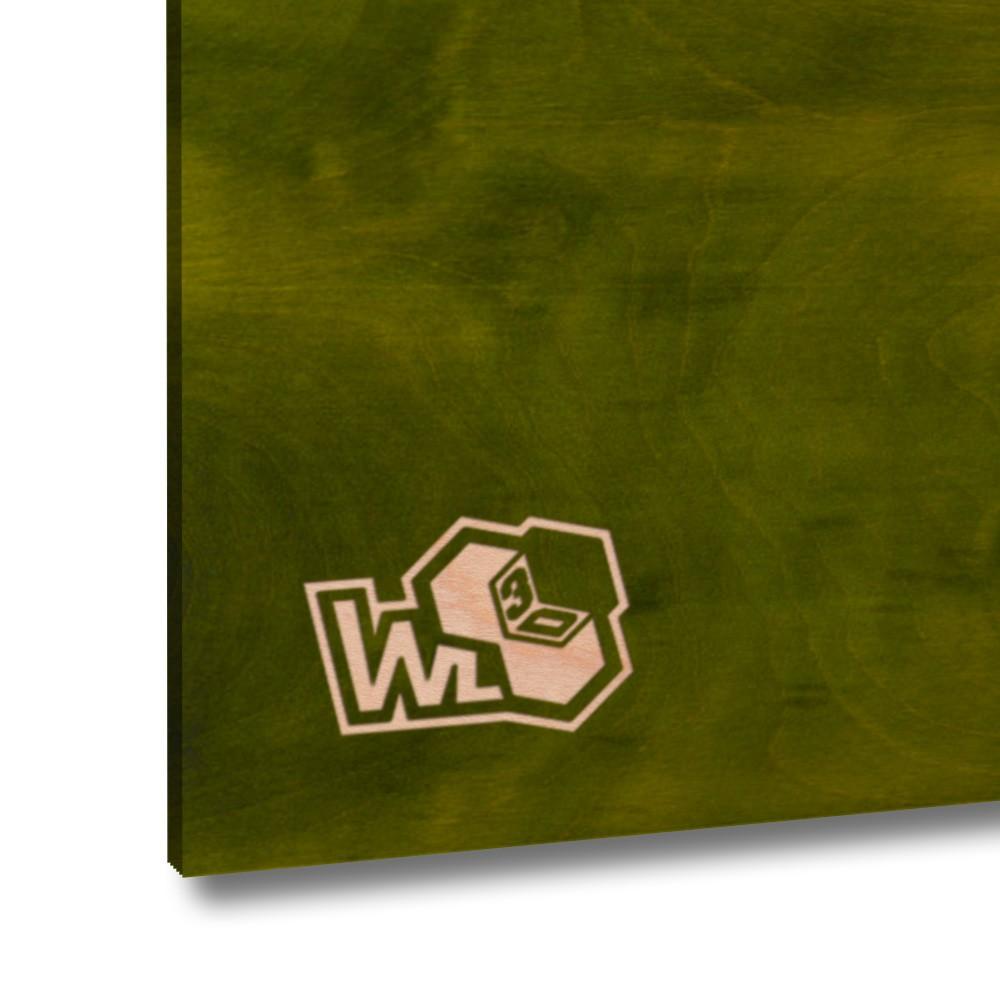 Legno di betulla multistrato verde