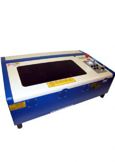 Piccolo plotter laser co2 tipo lux area di lavoro 220 x 300mm 40w