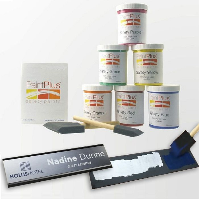 PaintPlus Safety - Kit Vernici acriliche atossiche per incisione laser